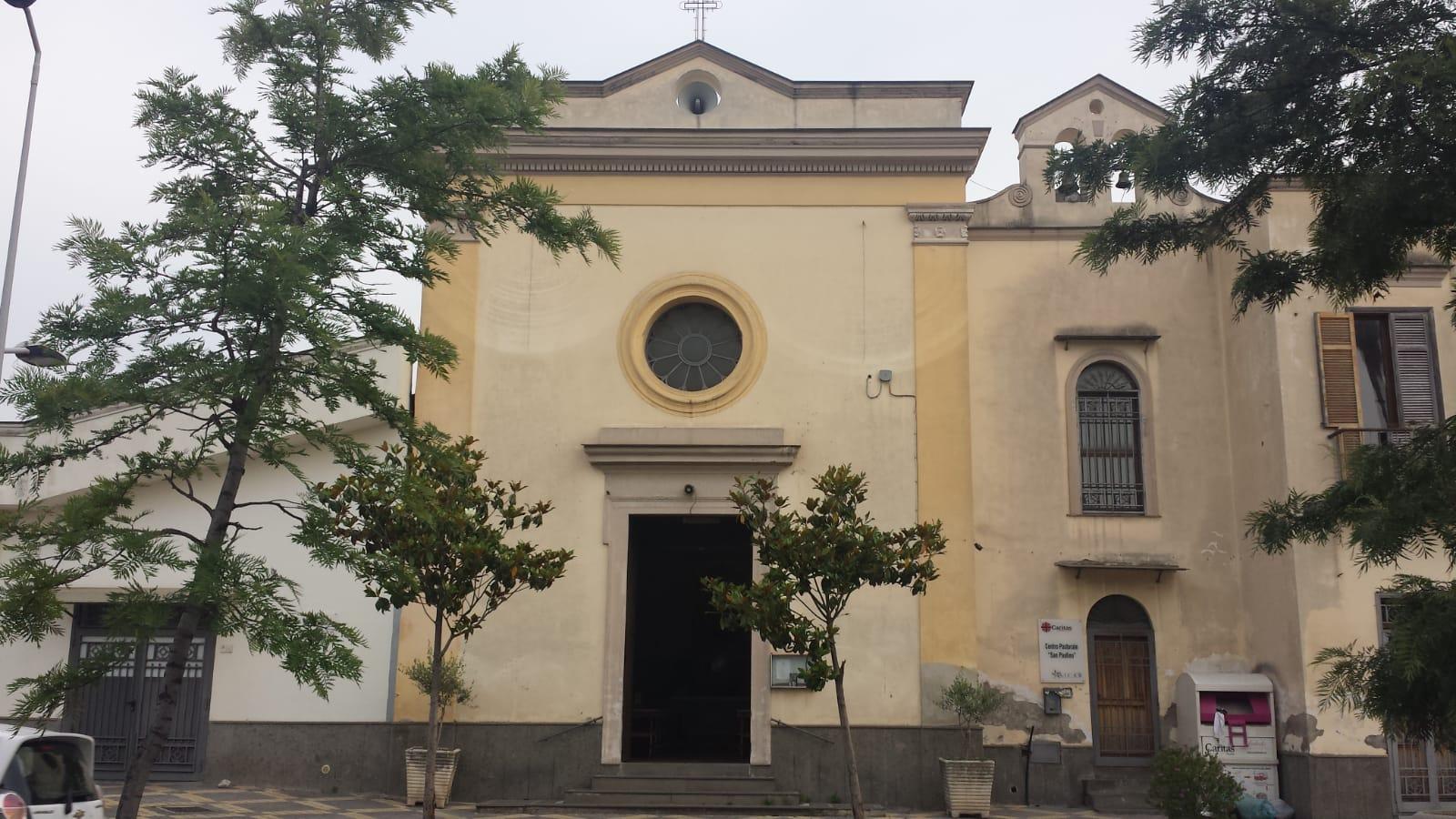 Via Romani Pomigliano D Arco santa maria del suffragio pomigliano